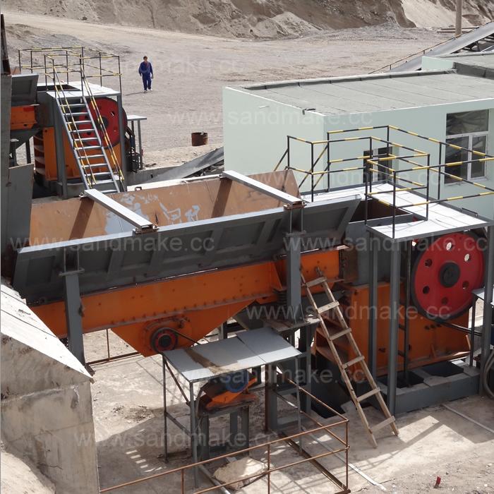 砂石生产线粗碎设备