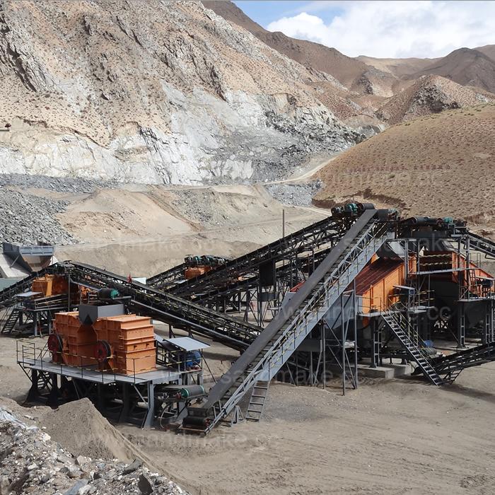 石料破碎加工生产线